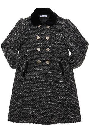 Dolce & Gabbana Acrylic & Cotton Blend Bouclé Coat