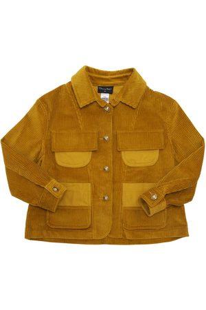 Oscar de la Renta Cotton & Cashmere Corduroy Jacket