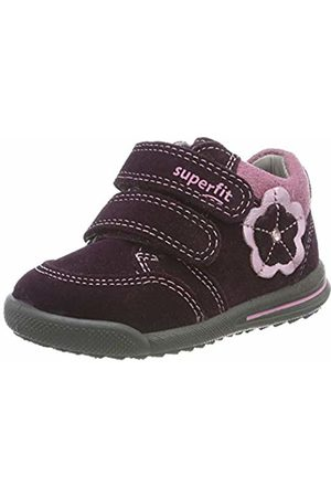 Superfit Baby Girls' Avrile Mini Low-Top Sneakers, ((Rot 50)