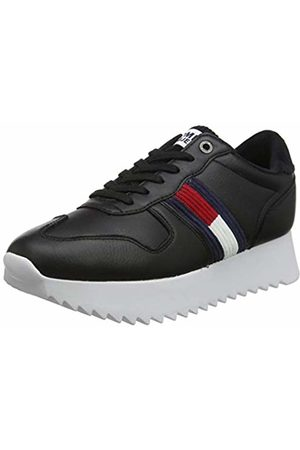 Tommy Hilfiger Women's High Cleated Seasonal Sneaker Low-Top, (( Bds)