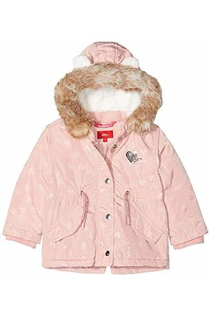 s.Oliver Baby Girls' 59.909.52.7011 Coat, Dusty Multi 42s1