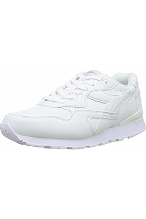 Diadora Unisex Adults' N.92 L Gymnastics Shoes, Bianco C0657