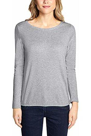 Cecil Women's 313999 Long Sleeve Top, ( Melange 21111)