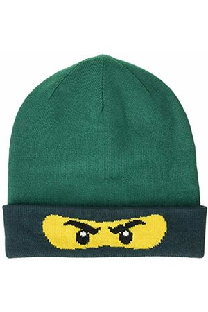 LEGO Wear Boy's Lego Ninjago Lwalfred 708-Strickmütze Hat, Dark 875