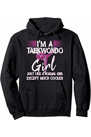 Martial Arts Designs and More Taekwondo Girl MMA Martial Arts Gift Combat Sport Pullover Hoodie