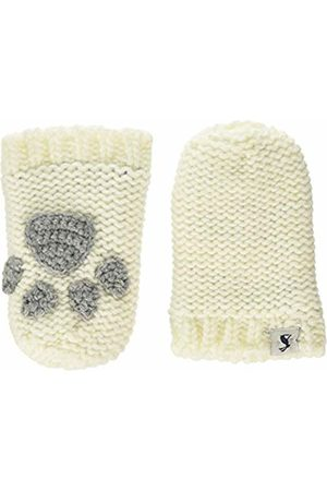 Joules Baby Girls' Paws Mittens, Off- Cream)