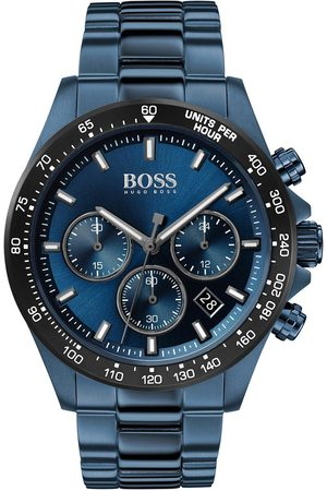 adidas Hero Sport Lux Blue Sunray Chronograph Dial Blue Ip Stainless Steel Bracelet Mens Watch