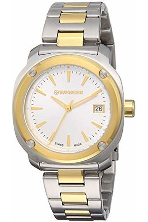 Wenger Women Watches - Women's Analogue Quartz Watch with Stainless Steel Strap 01.1121.106