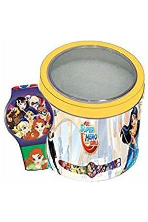Reloj Cartoon Superhero 000504919 SUPER HERO GIRLS - Tin Box Watch