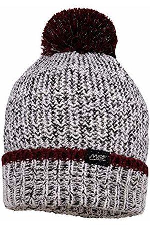 maximo Girls' Mit Umschlag Pompon und Lurex Hat