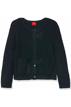 s.Oliver Girls' 53.909.64.2067 Cardigan, (Dark 5952)
