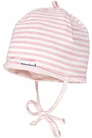 maximo Baby Girls' Mit Bindeband Und Aus Ringeljersey Hat