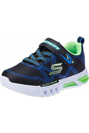 Skechers Boys' Flex-Glow Trainers, ( Lime Bblm)