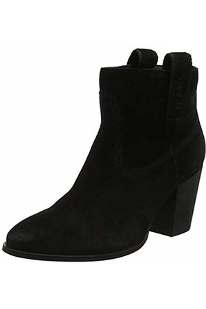 Tommy Hilfiger Women's Cowboy Suede Mid Heel Boot Ankle