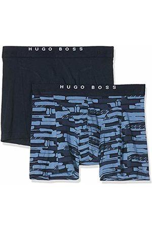 HUGO BOSS Men's Boxer Brief 2p Print Shorts, (Open 461)