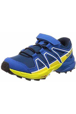 Salomon Kids' Trail Running Shoes, Speedcross Bungee K, Poseidon/Sky Diver/Sulphur Spring