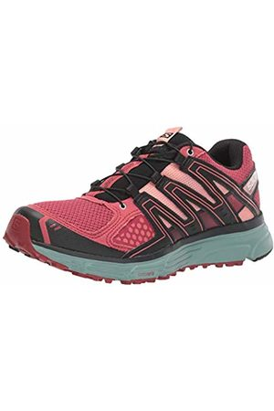 Salomon Women's Trail Running Shoes, X-Mission 3 W, Garnet Rose/Trellis/Coral Almond