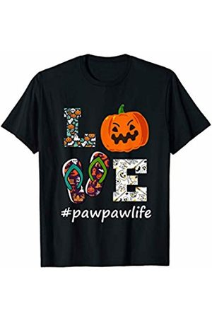 Happy Halloween scary retro shirt would be a Love Pawpawlife Pumpkin Flip Flops Halloween Sunflower Gifts T-Shirt
