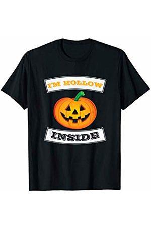 Halloween Costume Apparel by BUBL TEES I'm Hollow Inside Pumpkin Jack O Lantern Halloween T-Shirt