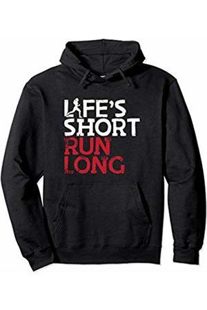 Bowes Fitness Life's Short Run Long Female Runner Pullover Hoodie