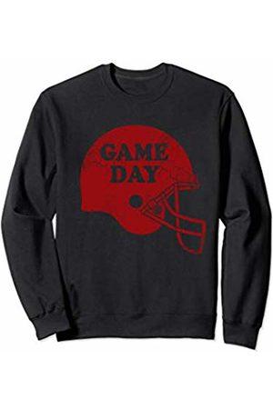 Tee Styley Game Day Football Helmet Red Sports Men Women Kids Gift Sweatshirt