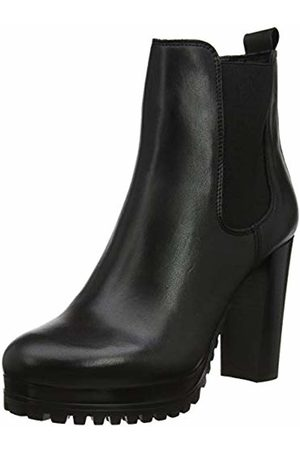 Tommy Hilfiger Women's Pin Logo Heeled Chelsea Boot Ankle, (( Bds)