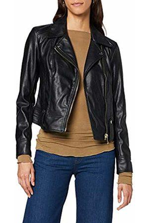 Trussardi Jeans Womenss Motorcycle Jacket Slim Fit Soft Ecoleather Bomber Coats & Jackets