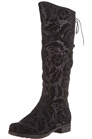 Think! Women's Denk_585032 High Boots, ((Schwarz 00)