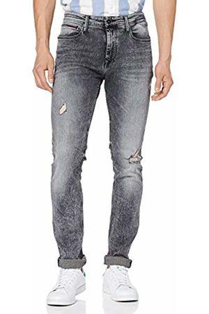 Tommy Hilfiger Men's's Slim Tapered Steve DXACBL Jeans, (Dynamic X Acid Stretch)