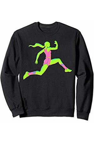 Run Like a Girl Sprint to the Finish - Girl Runner Sweatshirt