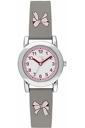 s.Oliver Girls Analogue Quartz Watch with Silicone Strap SO-3914-PQ