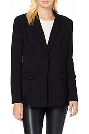 Guess Women's Anika Blazer Coat, (Jet A996 JBLK)