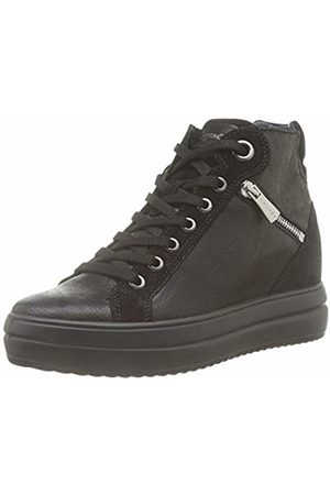 IGI &Co Women's Donna-41543 Hi-Top Trainers, (Nero 4154300)