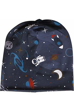 Green Cotton Baby Boys' Space Beanie Hat