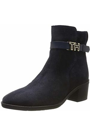Tommy Hilfiger Women's Th Hardware Suede Bootie Ankle Boots