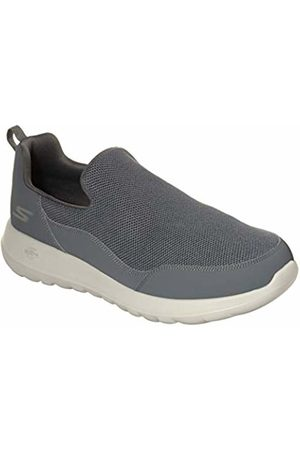 Skechers Men's GO Walk MAX-Privy Slip On Trainers, Charcoal