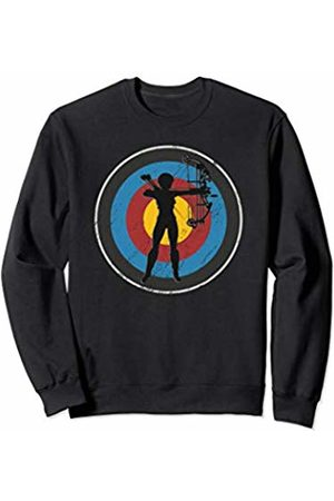 Archery is my Life Bullseye Bow Hunting Archery Girl Sweatshirt