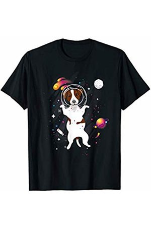 LVGTeam Lone Dog Jack Russell in Space T-Shirt