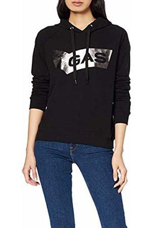 GAS Jeans Women's Soile Hood Logo Sports Hoodie, 0200
