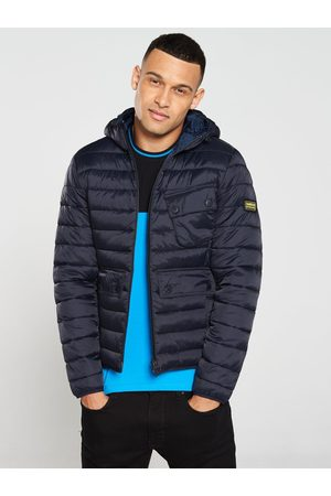 Barbour International Men Coats - Ouston Hooded Quilted Coat