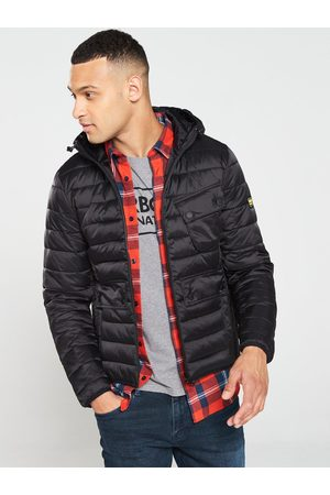 Barbour Men Coats - Ouston Hooded Quilted Coat