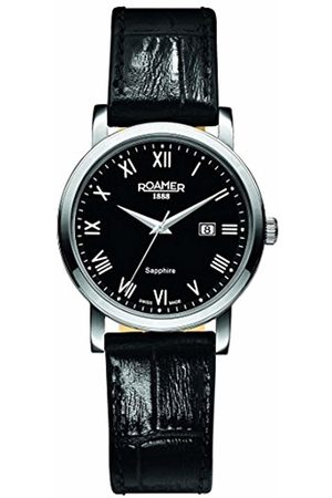 Roamer Women's Quartz Watch with Dial Analogue Display and Leather Strap 709844 41 52 07