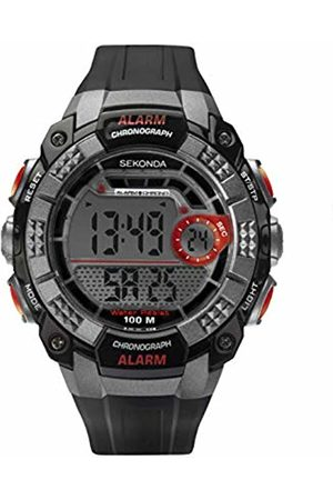 Sekonda Mens Analogue-Digital Watch with Plastic Strap 1673E