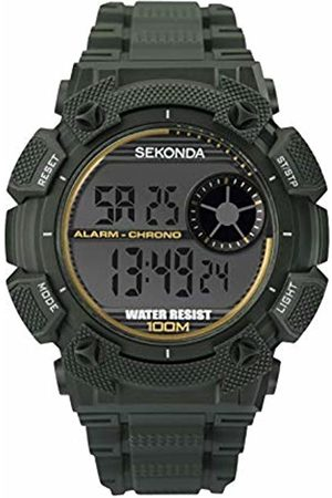 Sekonda Mens Analogue-Digital Watch with Plastic Strap 1678E