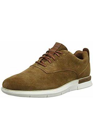 Cole Haan Men Shoes - Men's Grand Horizon Oxford Bourbon Suede/Ivory