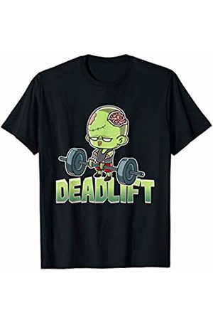 BCC Halloween Shirts Deadlift Zombie Halloween Costume Funny Zombies Gym Workout T-Shirt