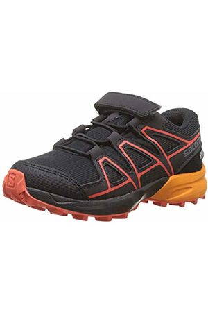Salomon Kids' Trail Running Shoes, Speedcross CSWP K, /Tangelo/Cherry Tomato