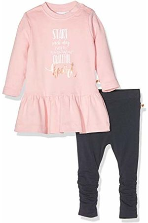 Schiesser Baby Girls' Set: Shirt 1/1 + Leggings Tracksuit