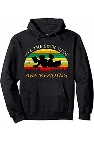 All The Cool Kids Are Reading Clothings All The Cool Kids Are Reading Hoodie Back To School Season Pullover Hoodie