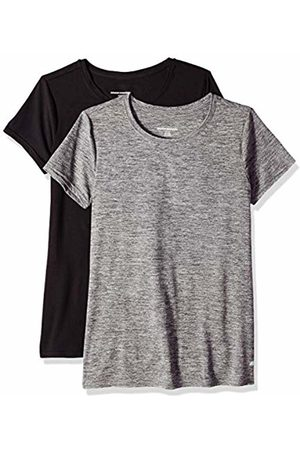 Amazon 2-Pack Tech Stretch Short-Sleeve Crew T-Shirt Space Dye/